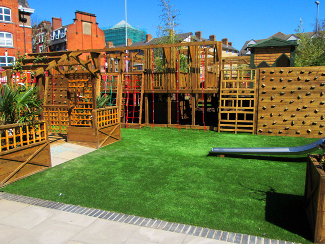 Playground Bethnal Green Featuring A Science Garden