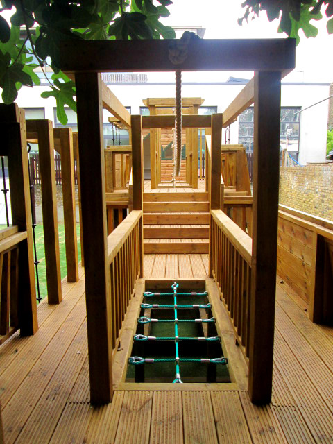 New Playground for Hampshire School in Chelsea London SW10