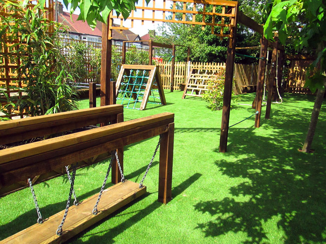 Recently completed playgrounds for Kingsbury garden designs