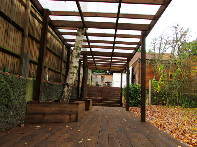 Affordable Covered Walkways For School Playgrounds